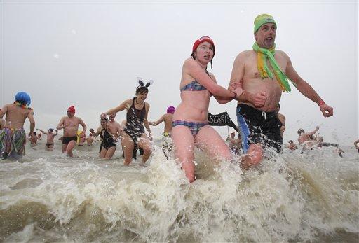 Belgium New Year Swim_Chav