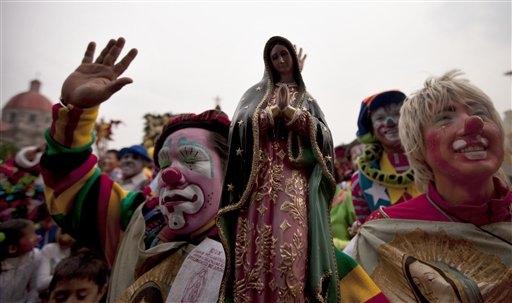 Virgin-clowns