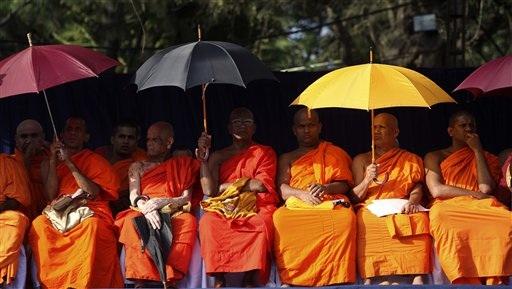 APTOPIX Sri Lanka Ele_Chav